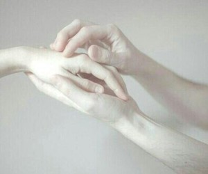 hands, white, and white hands image