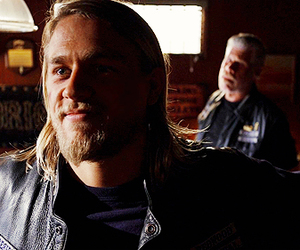 Charlie Hunnam, clay, and sons of anarchy image