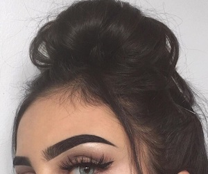 capelli, make up, and occhi image