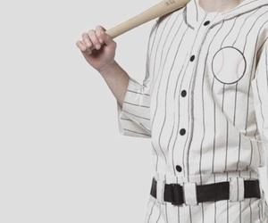 baseball, baseball bat, and retro image