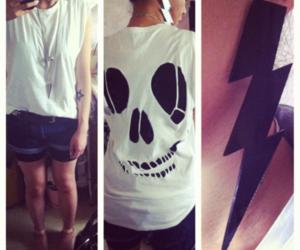 american apparel, denim shorts, and rocker image