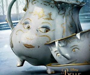 film, la belle et la bete, and tasse image