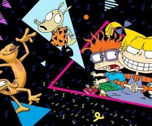 90's, cartoons, and nickelodeon image