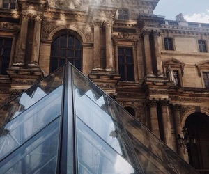 aesthetic, architecture, and louvre image