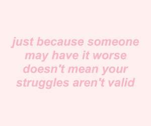 quotes, struggle, and pink image