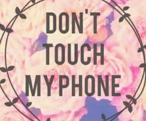 wallpaper, don't touch my phone, and sfondi image