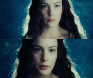 middle-earth, arwen, and thelordoftherings image