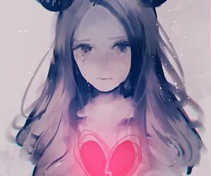 heart, sad, and anime image