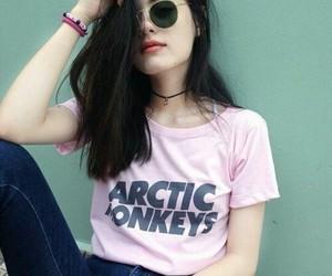 girl, arctic monkeys, and grunge image