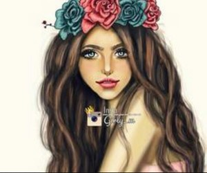 girly_m, flowers, and art image