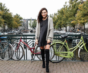 adventure, amsterdam, and bike image