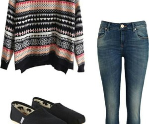 casual, jeans, and outfits image