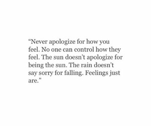 feelings, quotes, and apologize image