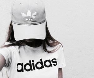 adidas, white, and tumblr image