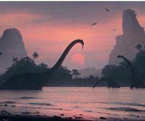 dinosaur and world image