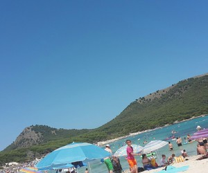beach, beachlife, and travel image