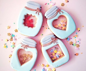 cookie, dessert, and pastel image
