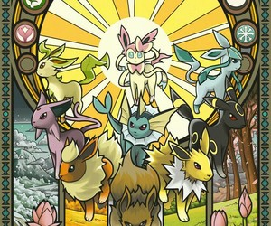 pokemon, eevee, and umbreon image