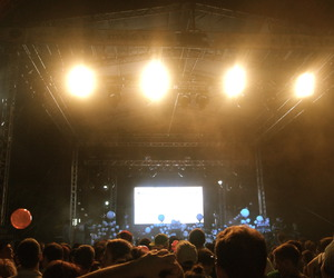 crowd, music, and portugal. the man image