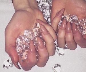 beauty, diamonds, and fashion image