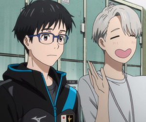 anime, yuri on ice, and icon image