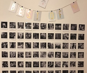 Best, polaroid, and fotowall image