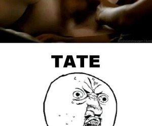 sexy, american horror story, and tate image