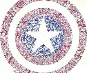 art, Avengers, and mandala image