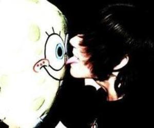 boy, emo, and spongebob image
