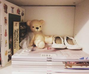 bear, book, and cute image