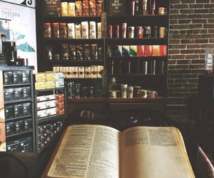 bible, church, and coffee image