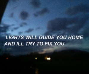 grunge, quotes, and coldplay image