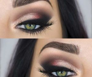 beauty, make up, and eyes image