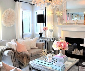 design, girly, and home image