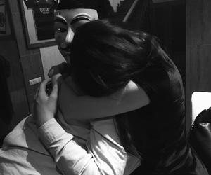 chair, hug, and kiss image