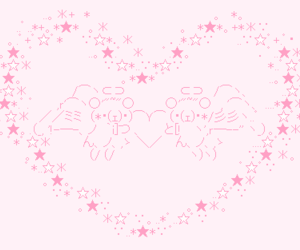 heart, pink, and stars image