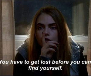quotes, lost, and paper towns image