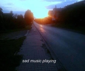 grunge, music, and sad image
