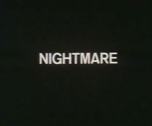 nightmare, grunge, and black image