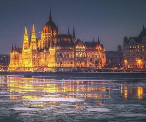 love, beautiful, and budapest image