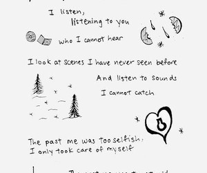 exo, wallpaper, and Lyrics image