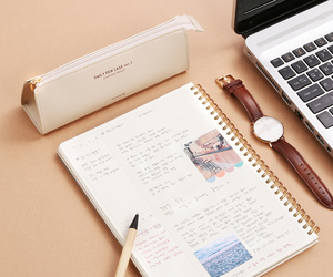 school, stationery, and study image