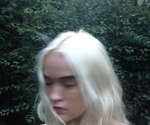 girl, indie, and pale image