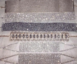 choker, luxury, and diamond image
