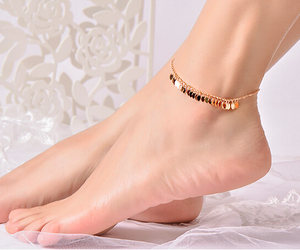fashion, jewelry, and anklets image