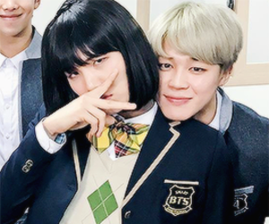 bts, jimin, and yoonmin image