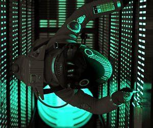2001, cyberpunk, and cyborg image