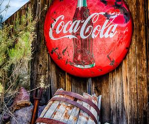 architecture, barrel, and coca cola image