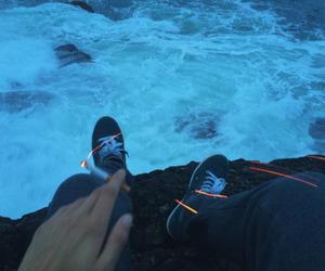 cigarette, grunge, and sea image