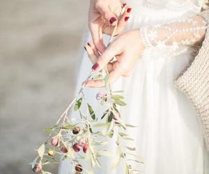 beauty, feminine, and flowers image